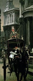 Going to Business (Going to the City) | Joseph Tissot | Painting Reproduction