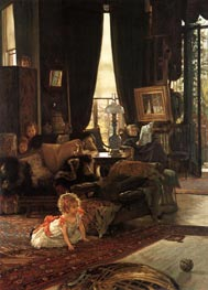 Hide and Seek | Joseph Tissot | Painting Reproduction