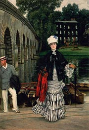 The Return from the Boating Trip | Joseph Tissot | Painting Reproduction