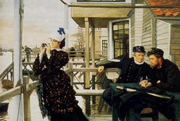 The Captain's Daughter, 1873 by Joseph Tissot | Painting Reproduction