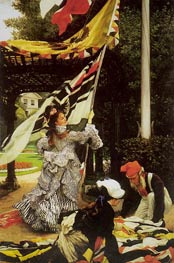 Still on Top, c.1874 by Joseph Tissot | Painting Reproduction