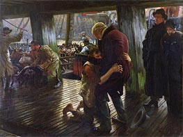 The Prodigal Son in Modern Life (The Return), 1880 by Joseph Tissot | Painting Reproduction
