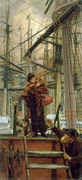 Emigrants, c.1879 by Joseph Tissot | Painting Reproduction