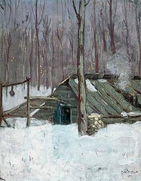 Sugar Bush, c.1897/98 von James Wilson Morrice | Gemälde-Reproduktion