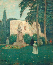 Avignon, The Garden, undated von James Wilson Morrice | Gemälde-Reproduktion