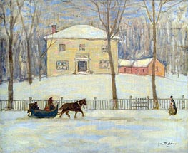 The Old Holton House, Montreal | James Wilson Morrice | Painting Reproduction