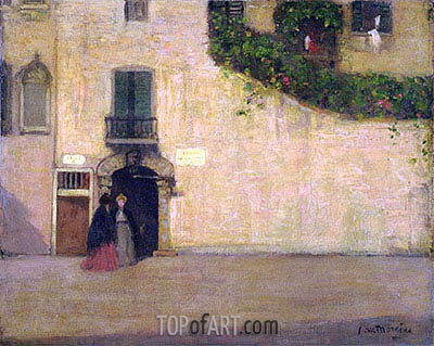 Campo San Giovanni Nuovo, Venice, c.1901/02 | James Wilson Morrice | Painting Reproduction