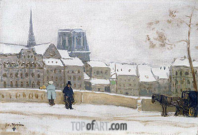 Notre-Dame, Paris, c.1901/02 | James Wilson Morrice | Painting Reproduction