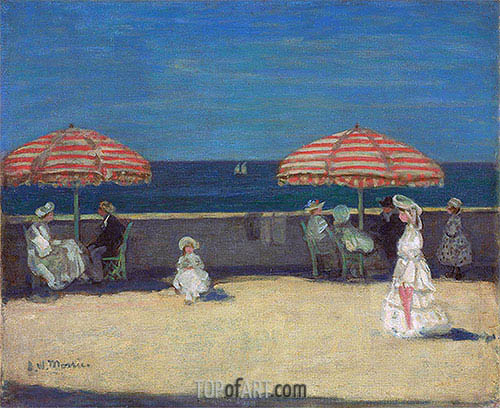 Dieppe, c.1906 | James Wilson Morrice | Painting Reproduction