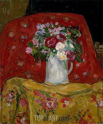Flowers, c.1911/12 | James Wilson Morrice | Painting Reproduction