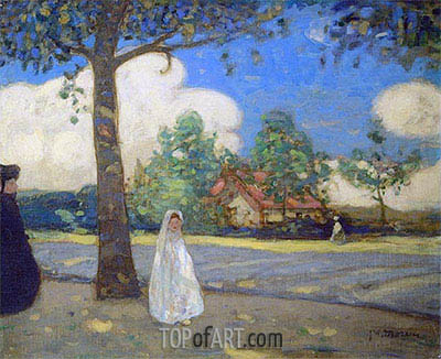 The Communicant, c.1910   James Wilson Morrice   Painting Reproduction