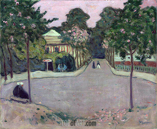 A Street in the Suburbs of Havana, c.1915/21 | James Wilson Morrice | Painting Reproduction