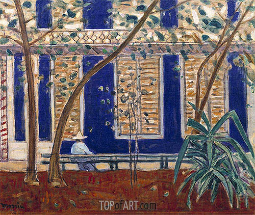 House in Santiago, 1915 | James Wilson Morrice | Painting Reproduction