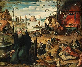 The Temptation of St Anthony, c.1550 by Jan Mandyn | Painting Reproduction