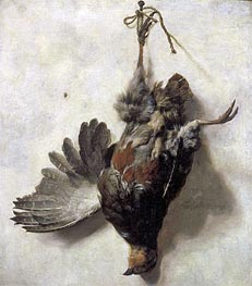 Dead Partridge, undated by Jan Baptist Weenix | Painting Reproduction