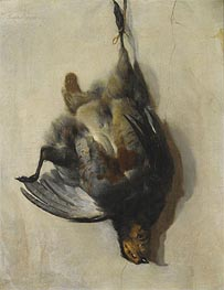 A Still Life of a Grey-Leg Partridge, Undated by Jan Baptist Weenix | Painting Reproduction
