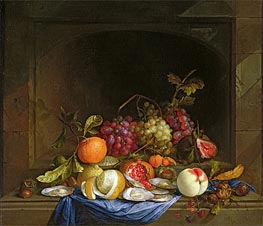 Still Life of Fruit, Undated von de Heem | Gemälde-Reproduktion