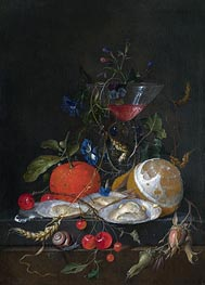 Still Life, c.1664/65 by de Heem | Painting Reproduction