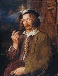 Self Portrait | de Heem | Painting Reproduction