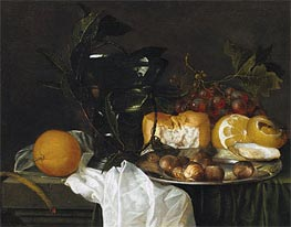 Still Life with a Roemer, Undated by de Heem | Painting Reproduction