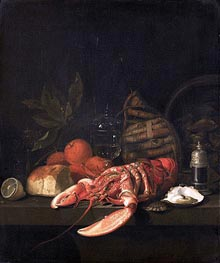 Still Life, 1668 by de Heem | Painting Reproduction