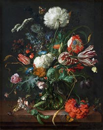 Vase of Flowers | de Heem | Gemälde Reproduktion