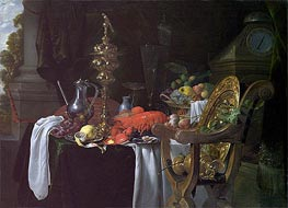 Still Life: A Banqueting Scene | de Heem | Painting Reproduction