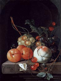 Still Life of Fruit | de Heem | Gemälde Reproduktion