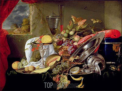 Still Life, Undated | de Heem | Painting Reproduction
