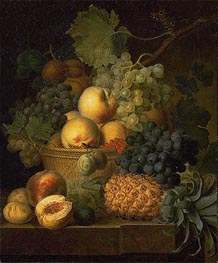 Basket of Fruit | van Dael | Gemälde Reproduktion