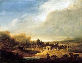 Panoramic Landscape | Jan Lievens | Painting Reproduction