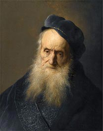 A Tronie of an Old Man | Jan Lievens | Painting Reproduction