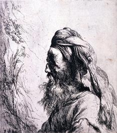 Head of an Oriental, undated von Jan Lievens | Gemälde-Reproduktion