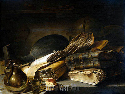 Vanitas Still Life, c.1620/30 | Jan Lievens | Painting Reproduction