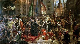 The Constitution of the 3rd May 1791, 1891 von Jan Matejko | Gemälde-Reproduktion