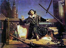 Astronomer Copernicus (Conversation with God) | Jan Matejko | Gemälde Reproduktion