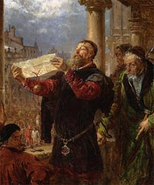Judgment on Matejka | Jan Matejko | Painting Reproduction