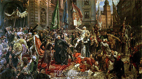 The Constitution of the 3rd May 1791, 1891 | Jan Matejko | Gemälde Reproduktion