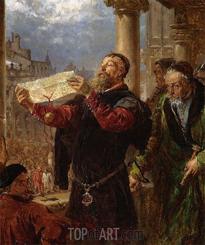 Judgment on Matejka, 1867 | Jan Matejko | Painting Reproduction