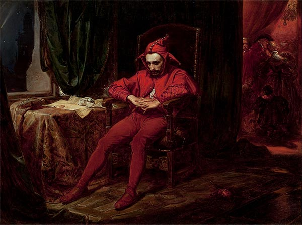 Stanczyk, 1862 | Jan Matejko | Painting Reproduction