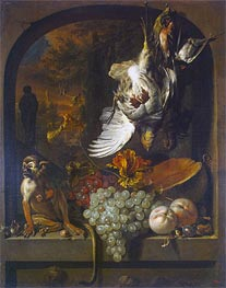 Still Life, undated by Jan Weenix | Painting Reproduction