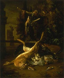 Still Life with a Hare and Birds | Jan Weenix | Gemälde Reproduktion