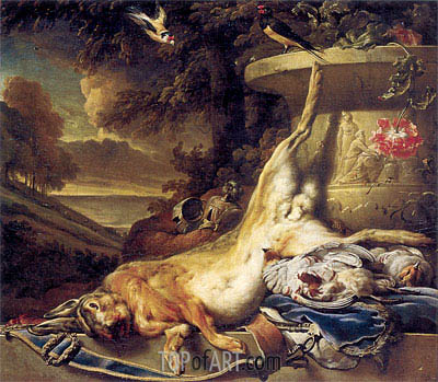 Dead Game, c.1691/96 | Jan Weenix | Painting Reproduction