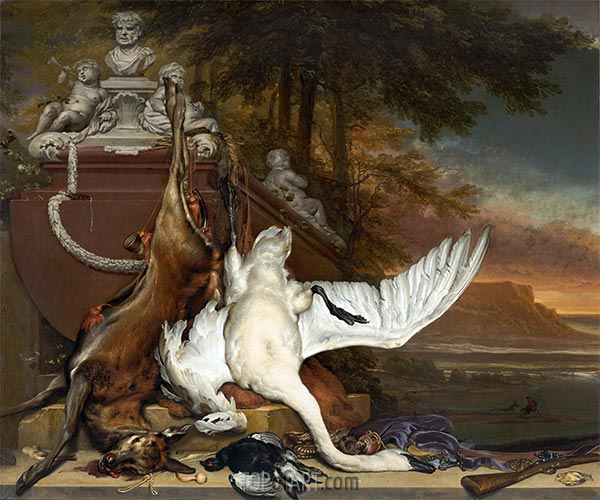 Dead Swan, c.1700/19 | Jan Weenix | Painting Reproduction