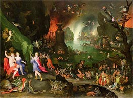 Orpheus in the Underworld, 1594 by Jan Bruegel the Elder | Painting Reproduction