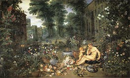 Smell, c.1617 by Jan Bruegel the Elder | Painting Reproduction
