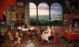 Hearing | Jan Bruegel the Elder | Painting Reproduction