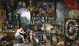 Sight (The Five Senses) | Jan Bruegel the Elder | Painting Reproduction