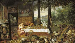 Taste, 1618 by Jan Bruegel the Elder | Painting Reproduction