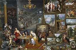 Sight and Smell | Jan Bruegel the Elder | Gemälde Reproduktion